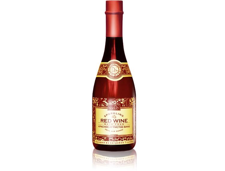 Пена для ванны «Красное игристое вино», 500 мл