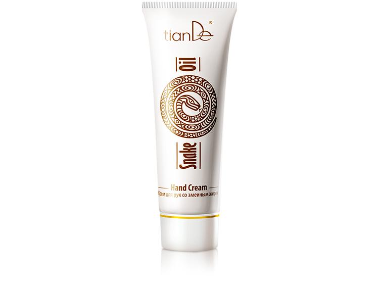 купить Крем для рук со змеиным жиром TianDe  – интенсивное восстановление и заживление кожи ТианДе