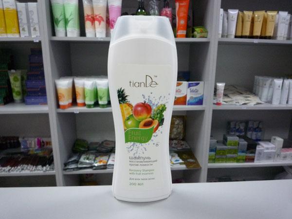 купить Шампунь восстанавливающий против ломкости волос «Фруктовая энергия» TianDe - Глянцевое сияние и восстановление ТианДе