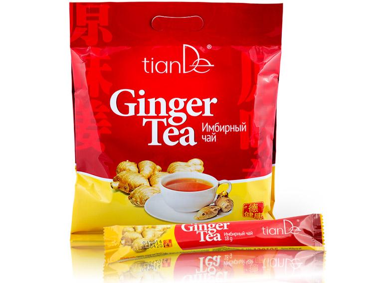 имбирный чай для похудения рецепт