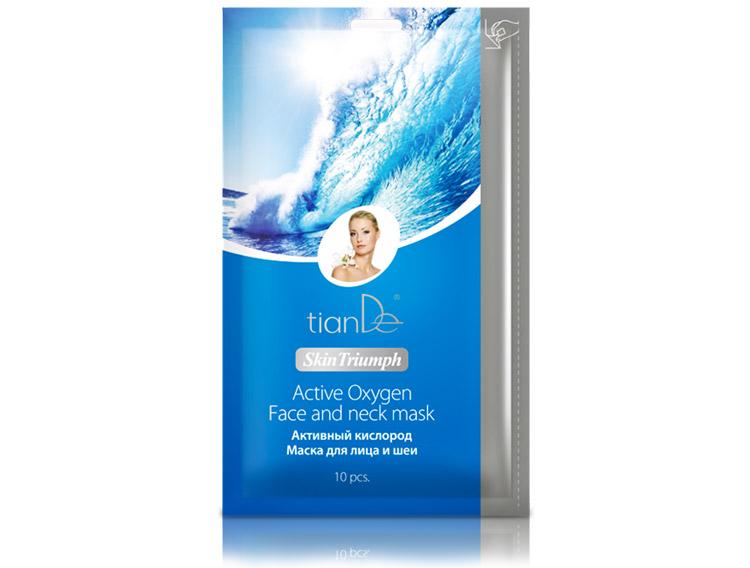 купить Маска для лица и шеи «Активный кислород» TianDe – Молодость и природное сияние кожи ТианДе