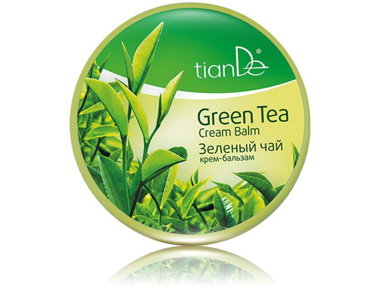 крем для лица зеленый чай отбеливающий