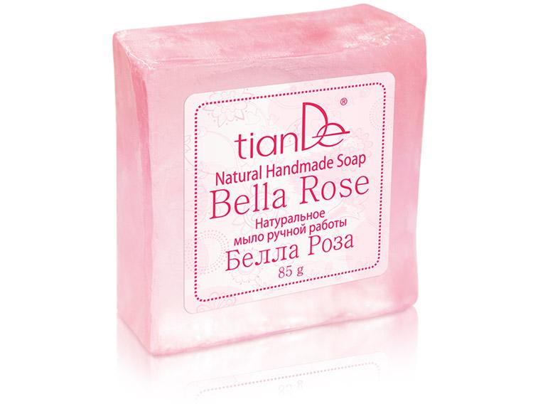 Натуральное мыло ручной работы «Белла Роза», 85г
