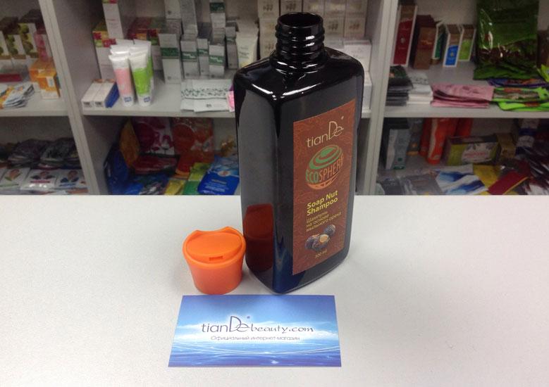 купить Натуральный шампунь на основе мыльного ореха Ecosphere TianDe - 99,99% натуральных компонентов ТианДе