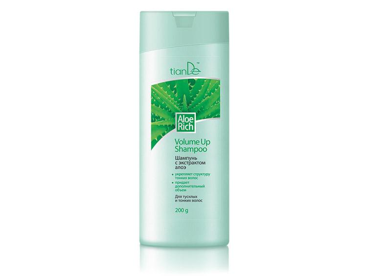 купить Шампунь c экстрактом алоэ Aloe Rich TianDe – Для тусклых и тонких волос ТианДе
