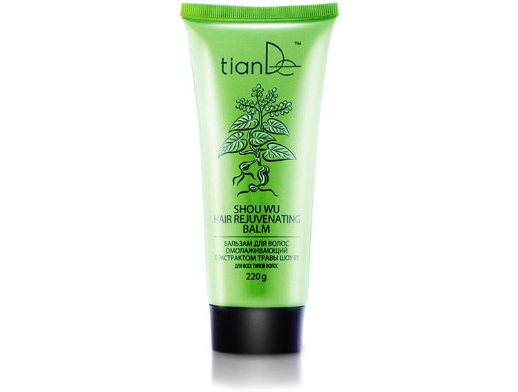 купить Бальзам для волос омолаживающий с экстрактом травы Шоу Ву TianDe - Сохрани молодость и силу волос! ТианДе