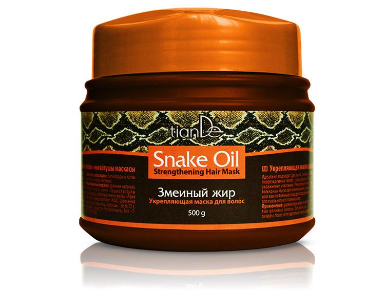 Укрепляющая маска для волос «Змеинный жир», 500 г