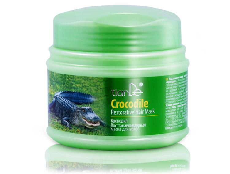 купить Восстанавливающая маска для волос «Крокодил» TianDe – Питание, увлажнение и защита волос ТианДе