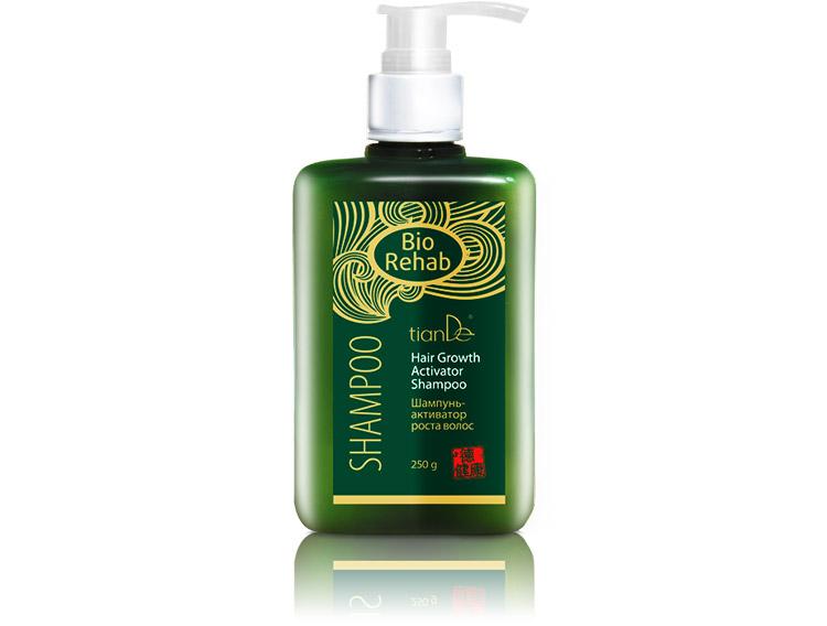 купить Шампунь-активатор роста волос TianDe – Поддержание и восстановление здоровья волос ТианДе