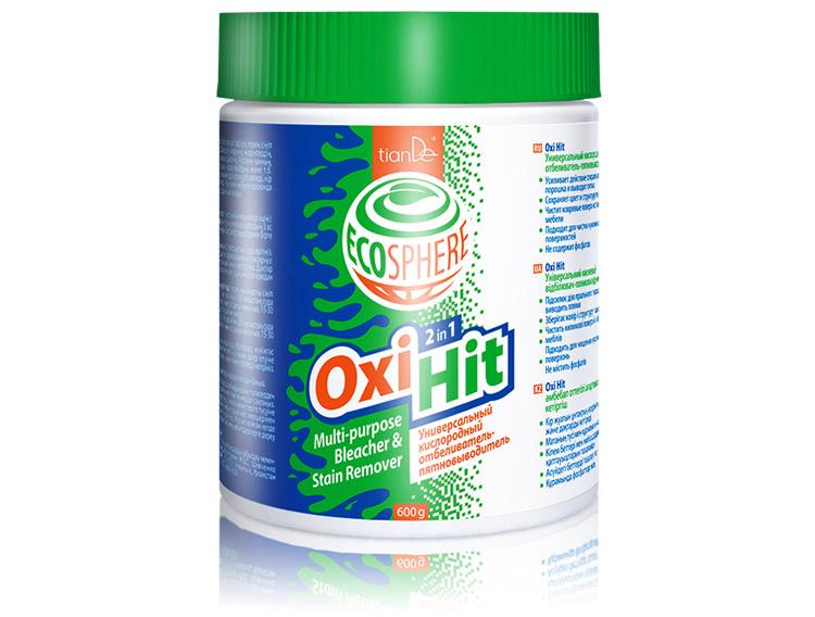 Кислородный отбеливатель-пятновыводитель Oxi Hit, 600г
