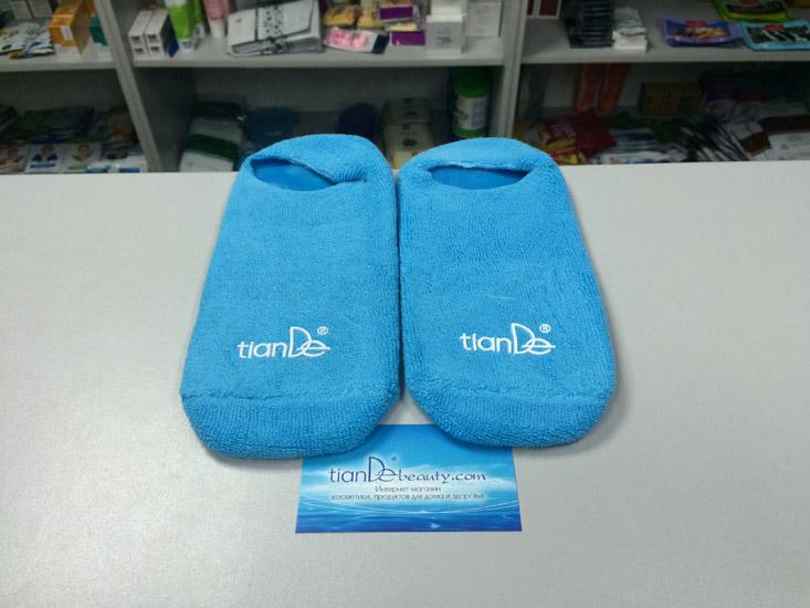 купить Косметические гелевые носочки «Гидробаланс» TianDe - Spa-уход для ваших ножек ТианДе