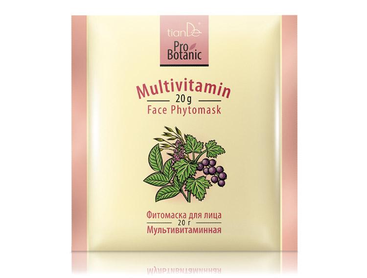Фитомаска для лица «Мультивитаминная» Pro Botanic, 20г