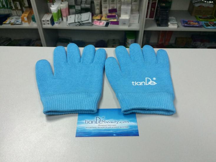 купить Косметические гелевые перчатки «Гидробаланс» TianDe - Spa-уход для ваших ручек ТианДе