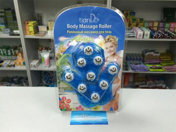 купить Роликовый массажер для тела TianDe - Массаж тела без лишних движений! ТианДе