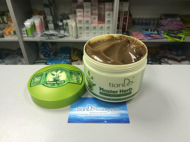 купить Крем-бальзам от облысения Master Herb – Крепкие и густые волосы ТианДе