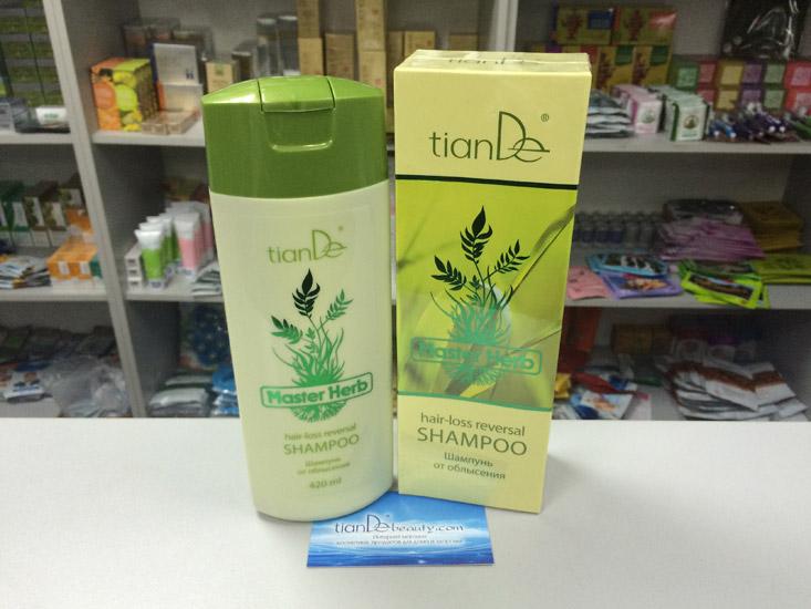 купить Шампунь от облысения Master Herb TianDe – Против выпадения волос ТианДе