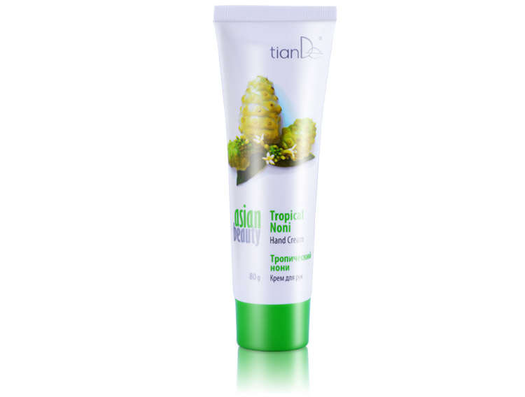 купить Крем для рук «Тропический нони» Asian Beauty TianDe - Руки, достойные поцелуев! ТианДе