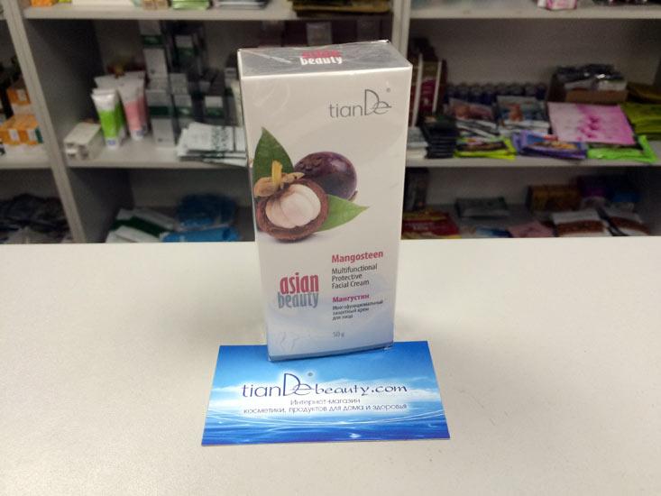 купить Многофункциональный защитный крем для лица «Мангустин» Asian Beauty TianDe ТианДе