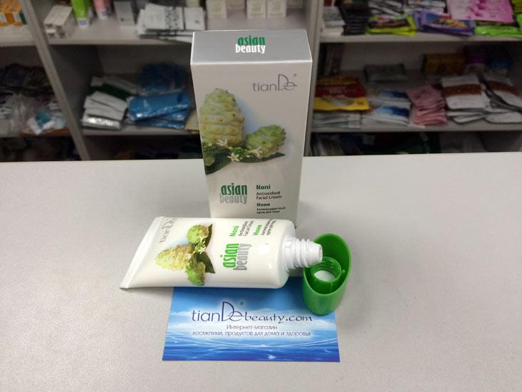 купить Антиоксидантный крем для лица «Нони» Asian Beauty TianDe - STOP, свободные радикалы! STOP, старение! ТианДе