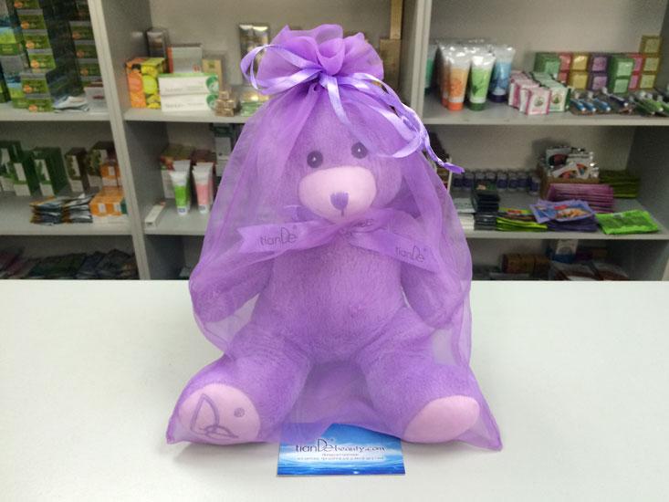 купить Лавандовый плюшевый мишка TianDe - Наполнен цветами лаванды! ТианДе