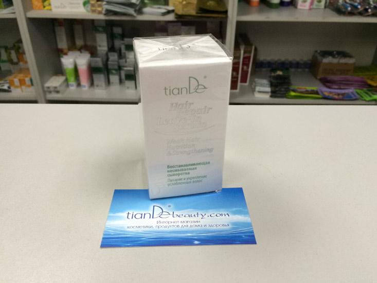 купить Восстанавливающая несмываемая сыворотка TianDe - Питание и укрепление ослабленных волос ТианДе