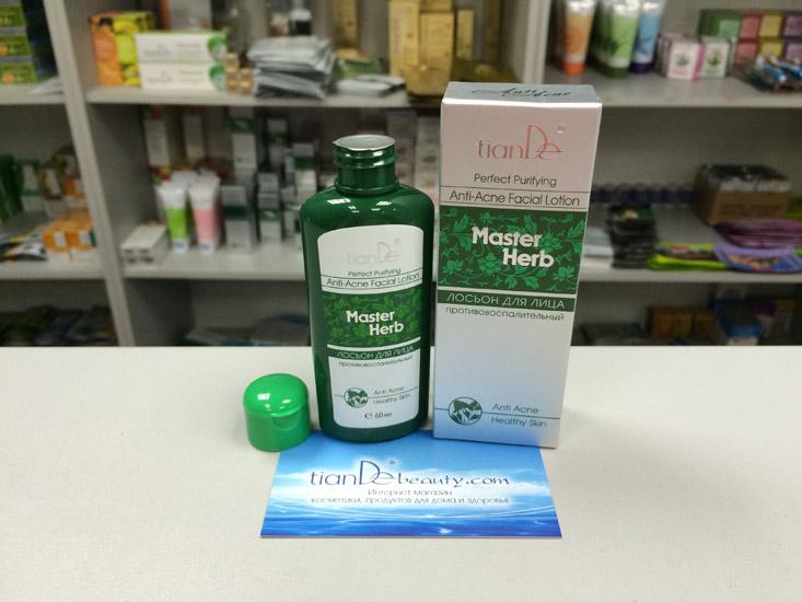 купить Противовоспалительный лосьон Master Herb TianDe - Ежедневное очищение, тонизирование ТианДе