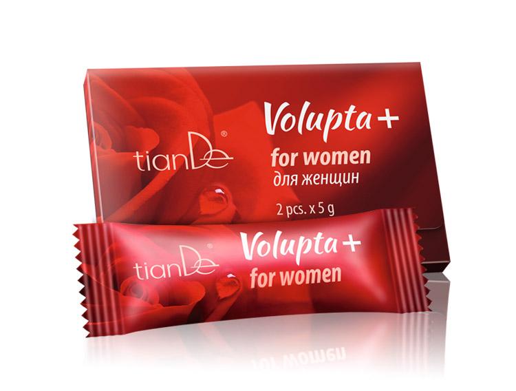Интимный гель Volupta+ для женщин, 2 шт. x 5 г