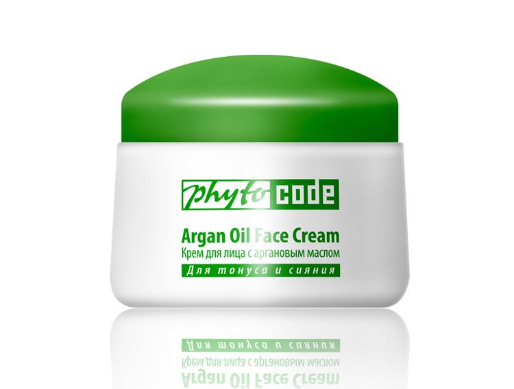 купить Крем для лица c aргановым маслом Phyto Code TianDe – Антивозрастной уход + Защита до 85% от УФ лучей ТианДе