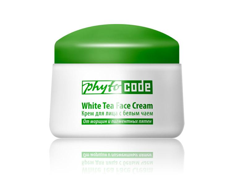 Крем для лица с белым чаем Phyto Code, 50г