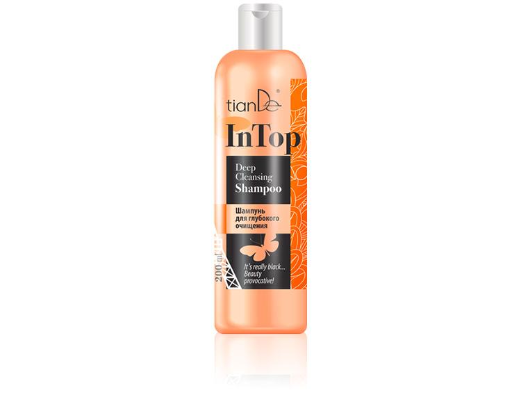 купить Шампунь для глубокого очищения In Top TianDe – Бьюти-провокация: детокс-очищение твоих волос! ТианДе