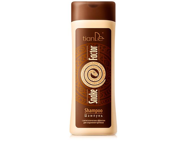 купить Восстанавливающий шампунь с антистатическим эффектом Snake Factor TianDe – Липидная реконструкция волос ТианДе