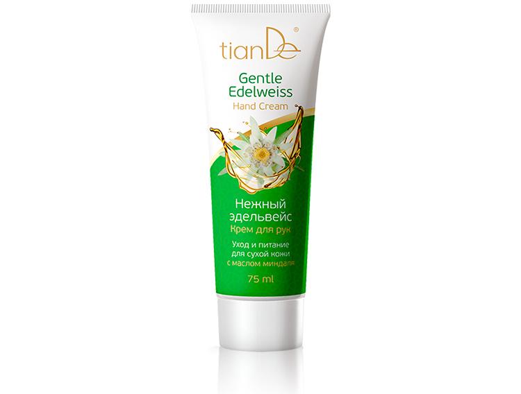 купить Крем для рук «Нежный эдельвейс» TianDe – Уход и питание для сухой кожи ТианДе