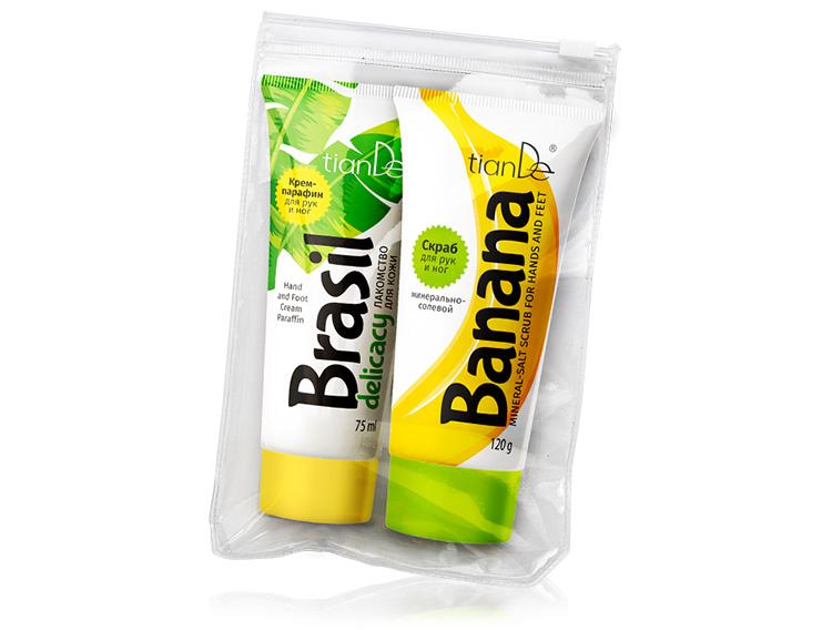 купить Набор для парафинотерапии «Бразильский банан» TianDe – «Холодная» парафинотерапия ТианДе