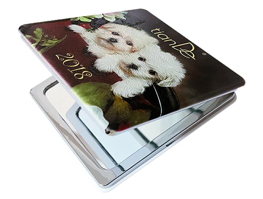 купить Зеркало двухстороннее Sweety Puppies TianDe – Очарование и восторг! ТианДе