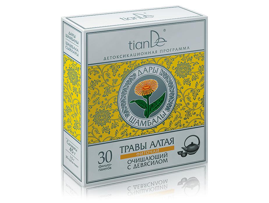купить Фиточай очищающий TianDe – Невероятная легкость и уверенность в себе! ТианДе