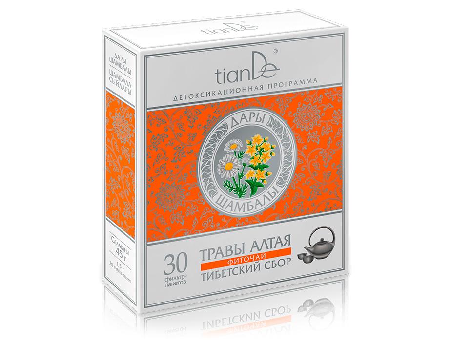 купить Фиточай «Тибетский сбор» Дары Шамбалы – Крепкий иммунитет и тонус организма ТианДе