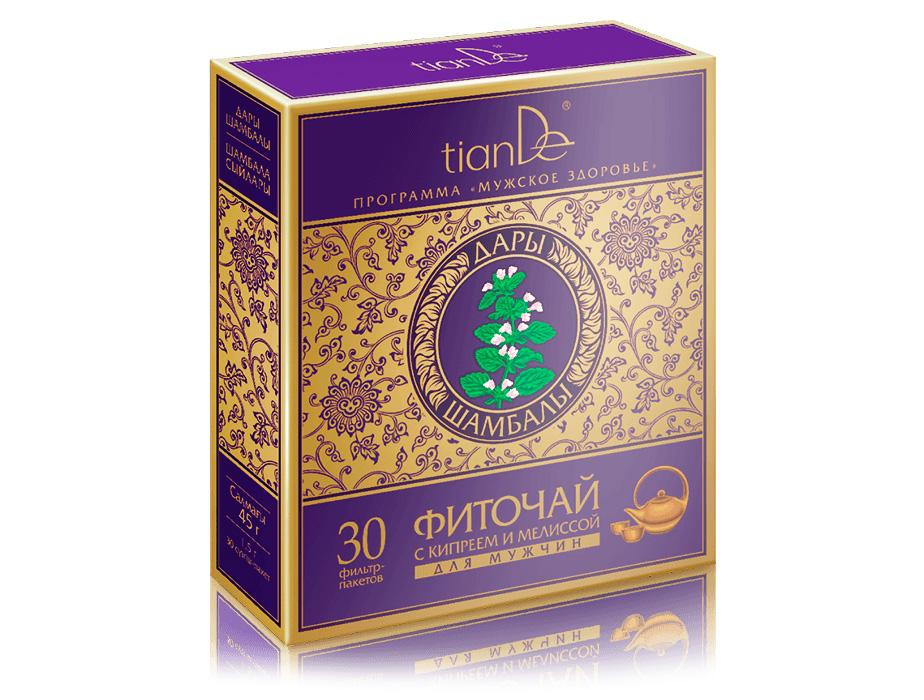 купить Фиточай с кипреем и мелиссой для мужчин TianDe – Для здорового сна ТианДе