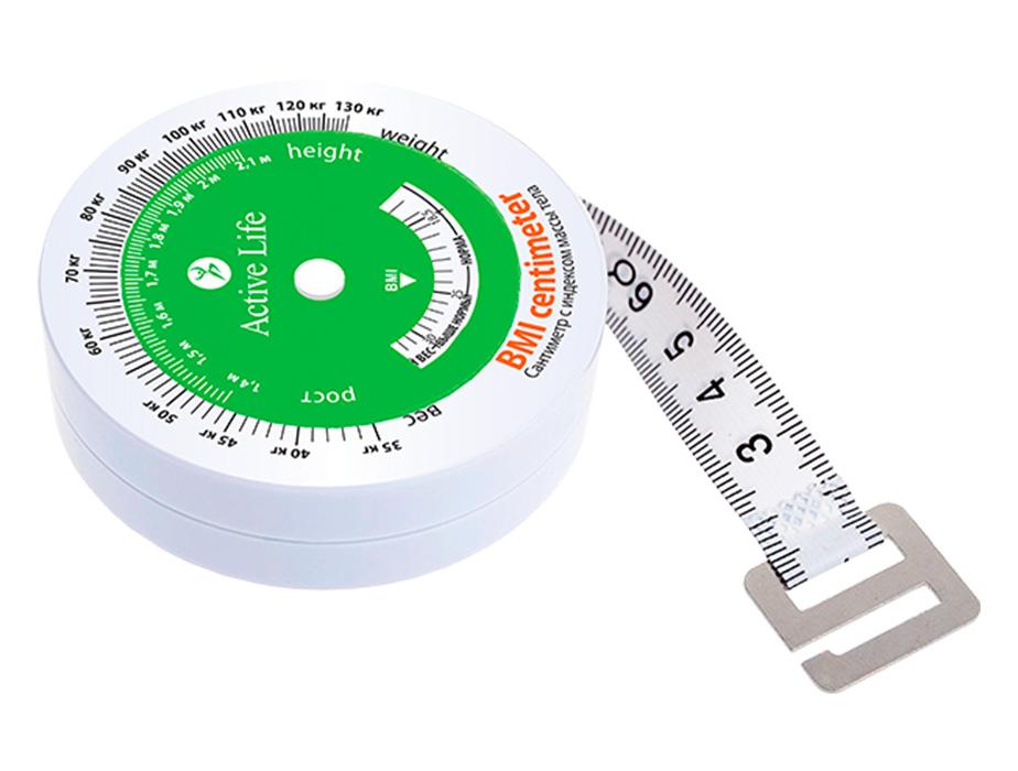купить Сантиметр с индексом массы тела  Active Life TianDe – Измерь здоровье в сантиметрах ТианДе