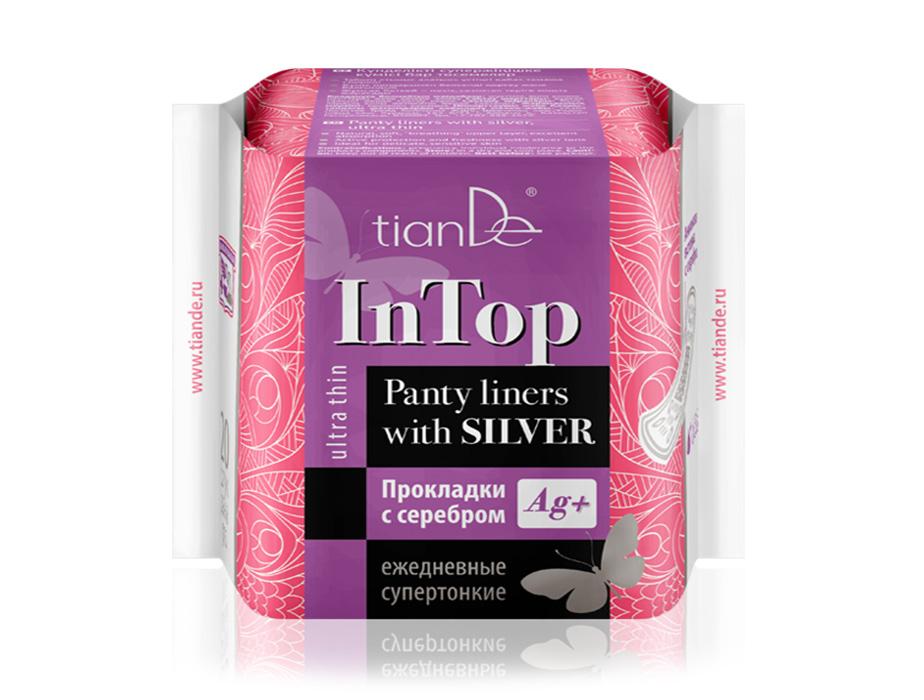 купить Прокладки с серебром ежедневные cупертонкие TianDe – Утонченная защита для безупречного свидания! ТианДе