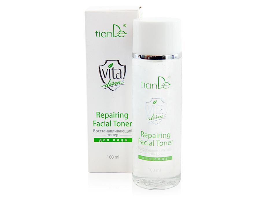 купить Восстанавливающий тонер для лица Vita Derm TianDe - Удержи влагу в коже! ТианДе