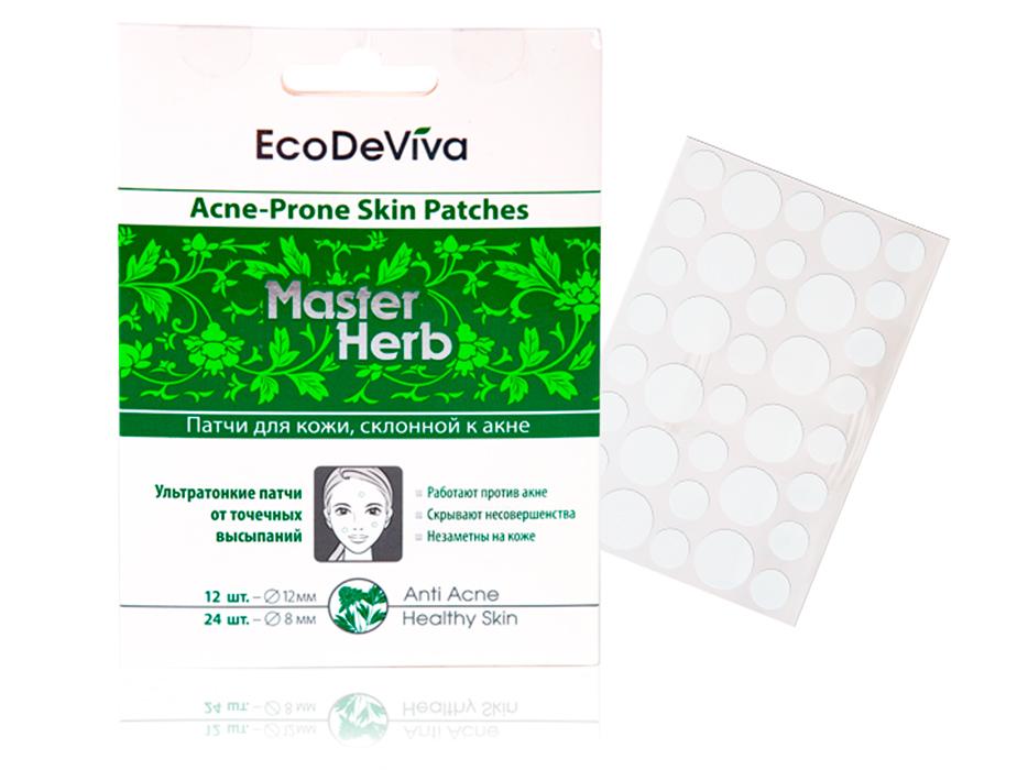 купить Патчи для кожи, склонной к акне EcoDeViva - Локальное экспресс-действие против акне ТианДе